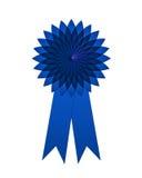 Ausstrahlen des ersten Platzes des Rosetteblaus Lizenzfreie Stockbilder