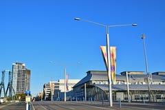 Austalia Avenue at Sydney Olympic Park with Sydney Showground Stadium Royalty Free Stock Photography