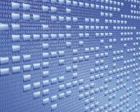 Austausch der elektronischen Daten Lizenzfreies Stockbild