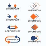 Austausch-Logo Stockfotografie