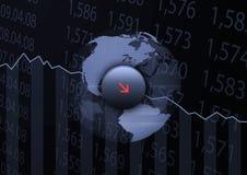 Austausch-Verlust Lizenzfreies Stockfoto