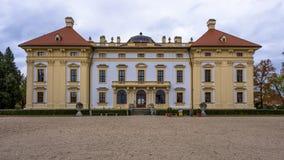Austelitz, Slavkov Castle στοκ εικόνα με δικαίωμα ελεύθερης χρήσης