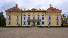 Austelitz, Slavkov Castle. Front view Royalty Free Stock Image