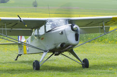 Auster 6A Tugmaster rocznika samolot zdjęcia royalty free