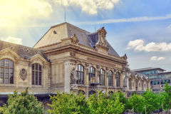 Austerlitz Train Station in Paris. City views of one of the most beautiful cities in the world - Paris. Austerlitz Train Station in Paris Royalty Free Stock Photos