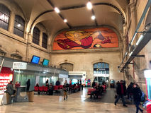 Austerlitz Train station Paris Royalty Free Stock Photo
