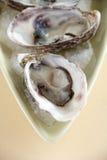 Austern natürlich stockbild
