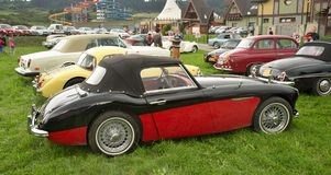 Austi Healey 3000 BT 7 - 1960年 库存图片
