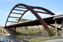 Austin 360 Bridge Royalty Free Stock Photos