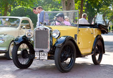Austin 7 convertible on Vintage Car Parade Stock Images
