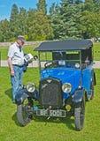 Austin 7 Intiem bij de Verzameling van het Kasteel Brodie. Stock Afbeelding