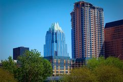 Austin Architecture. Owl building in Austin royalty free stock photography