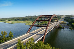 Austin 360 Bridge Royalty Free Stock Images