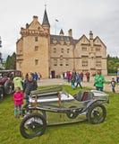 Austin Brooklands på Brodie Castle Royaltyfria Bilder