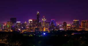Austin céntrica Imagen de archivo