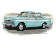 Austin A60 Cambridge Stockfoto