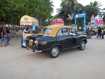 Austin Cambridge taxi India Royalty Free Stock Photography