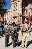 austin capitol dzień Texas weterani Zdjęcie Royalty Free