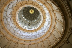 Austin Capitol Rotunda. Taken inside on the top level. Amazing designs circling the entire dome which I find intriguing Royalty Free Stock Images