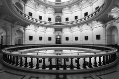 Austin Capitol Rotunda. Shot from the inside of the entire level Royalty Free Stock Image