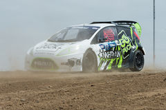 Austin Cindric rally driver Royalty Free Stock Image