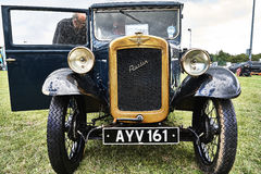 Austin Classic Car Vintage Event Stockbild