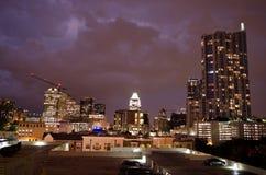 Austin di notte immagini stock