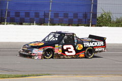 Austin Dillon 3 serie di qualificazione ORP del camion di NASCAR Immagini Stock