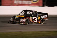 Austin Dillon Exiting Turn 2 Truck Series Night Royalty Free Stock Image