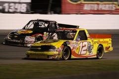 Austin Dillon Mario Gosselin 12 Vrachtwagen ORP NASCAR Stock Fotografie