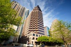 Austin Downtown Skyline Royalty-vrije Stock Fotografie