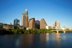Austin Downtown Skyline Photographie stock