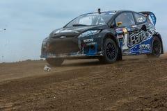 Austin Dyne rally driver Stock Photos