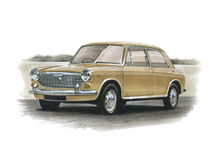 Austin 1100 eller 1300 Royaltyfria Bilder