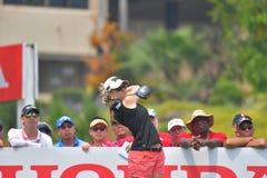 Austin Ernst in Honda LPGA Thailand 2018. Austin Ernst of USA in Honda LPGA Thailand 2018 at Siam Country Club, Old Course on February 24, 2018 in Pattaya Stock Images