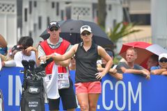 Austin Ernst in Honda LPGA Thailand 2018. Austin Ernst of USA in Honda LPGA Thailand 2018 at Siam Country Club, Old Course on February 24, 2018 in Pattaya Royalty Free Stock Images