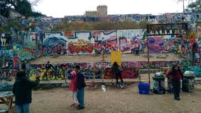 The Austin Graffiti Park Royalty Free Stock Photos