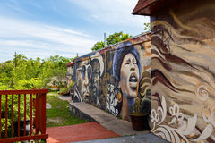 Austin Graffiti Walls Images libres de droits