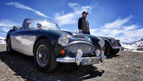 Austin-Healey 3000 Mk3 Stock Photos
