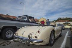 1960 Austin Healey 3000 Royalty-vrije Stock Afbeeldingen
