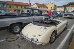 1960 Austin Healey 3000 Royalty-vrije Stock Afbeelding