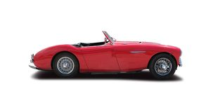 Austin Healey 100 Stockfotografie