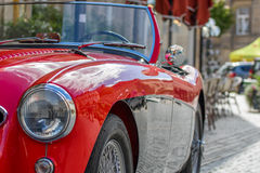 Austin-Healey  - Classic sporty convertible of the 60s Stock Images