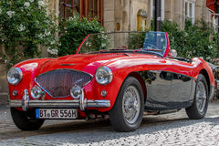 Austin-Healey  - Classic sporty convertible of the 60s Royalty Free Stock Image