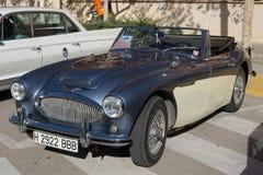 1964 Austin Healey 3000 Convertibele mk II Royalty-vrije Stock Foto's