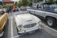1960 Austin Healey 3000 Stock Photo