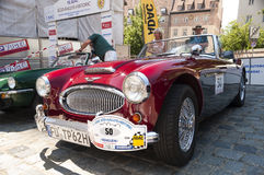 Austin-Healey 3000 MK II royalty free stock image