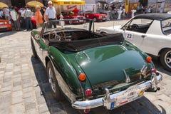 Austin Healey 3000 MK II - tylni widok Zdjęcia Stock