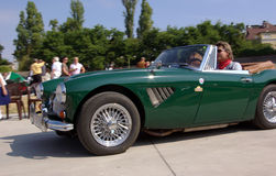 Austin Healey MK III 3000 BJ8 Royalty Free Stock Photos