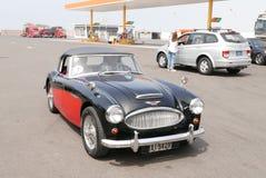 Austin Healey 3000 Mk III in Lima Stock Afbeeldingen